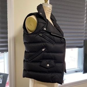 Denim & Supply Ralph Lauren Womens Black Down vest